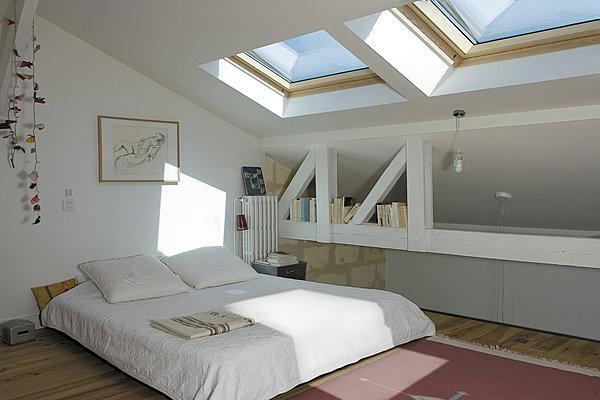 Quel est l'intérêt de poser une fenêtre sur sa toiture