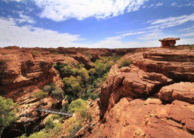 voyage en australie canyon
